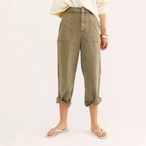 Free People Saturday Sun Straight Leg Trouser